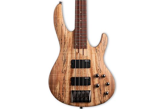 ESP LTD B-204SM Bass Guitar - Spalted Maple
