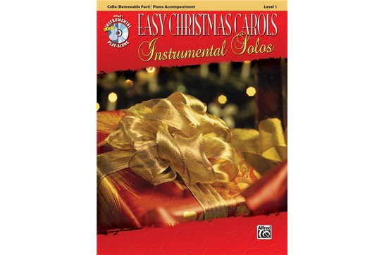 Easy Christmas Carols Level 1 w/CD (Cello)