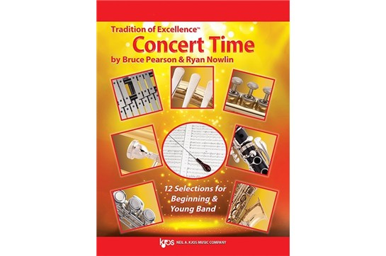 Tradition of Excellence: Concert Time Alto Saxophone