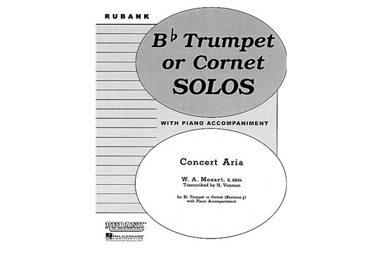 Concert Aria (K. 382h) for Bb Trumpet/Cornet