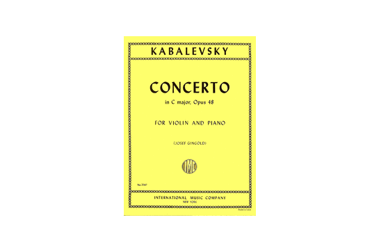 2111A12 Concerto in C Op 48 for Violin