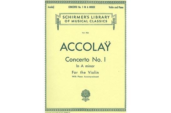 Concerto No. 1 in A Minor (Violin)