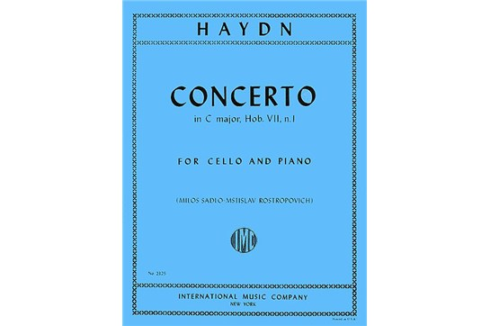 Concerto in C major, Hob. VIIb: No. 1 for Cello