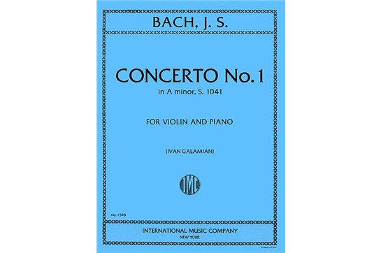 Concerto No. 1 in A minor for Violin