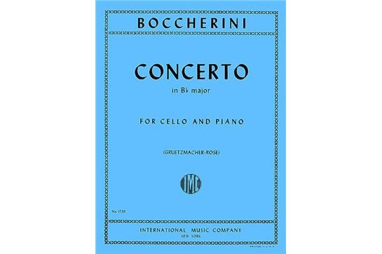 Concerto in B flat major for Cello