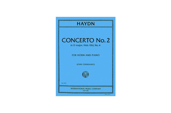 Concerto No. 2 in D major Horn and Piano