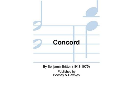Concord - SATB