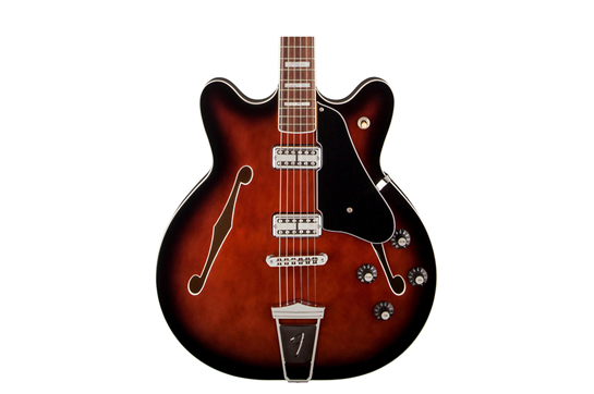 Fender Coronado (Black Cherry Burst) - Rosewood Neck