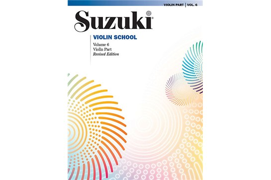 Suzuki Violin School, Volume 6 Revised - Violin Part