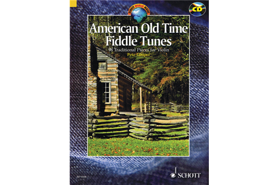 American Old Time Fiddle Tunes w/CD
