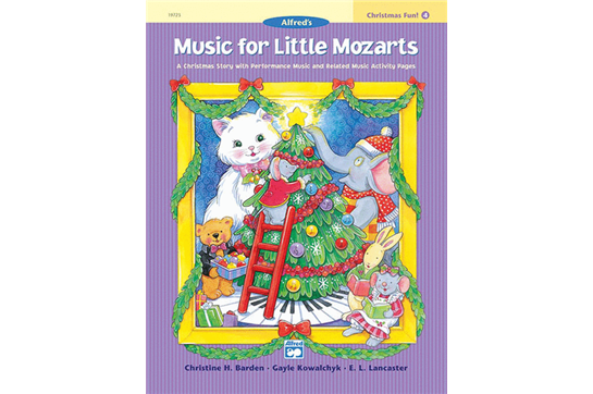 Music for Little Mozarts, Christmas Fun (Book 4)