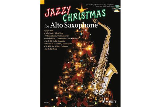 Jazzy Christmas - Alto Sax