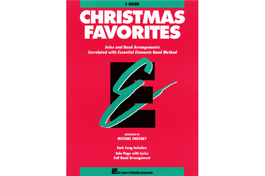 Essential Elements Christmas Favorites - F Horn