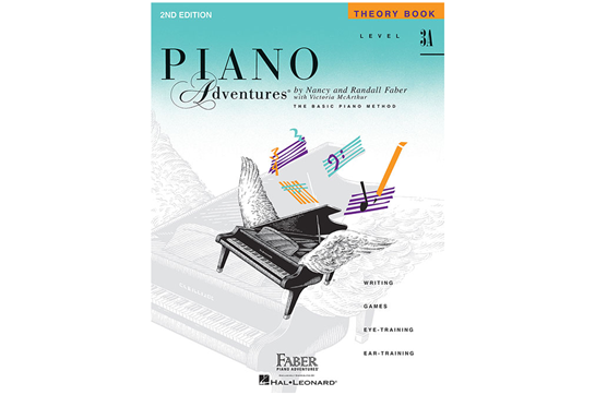 Piano Adventures Theory Book - Level 3A