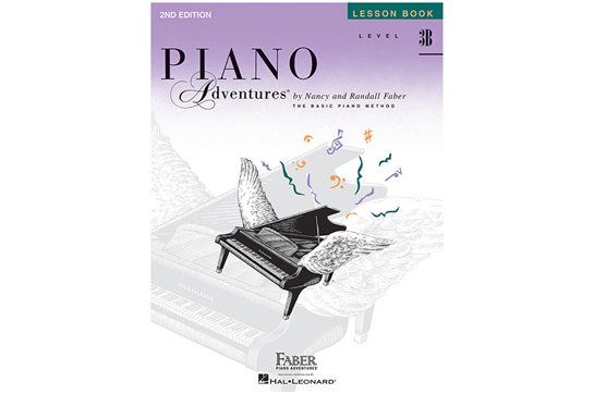 Piano Adventures Lesson Book - Level 3B