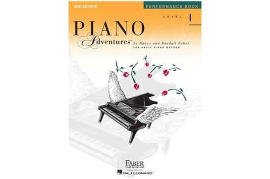 Piano Adventures Performance Book - Level 4