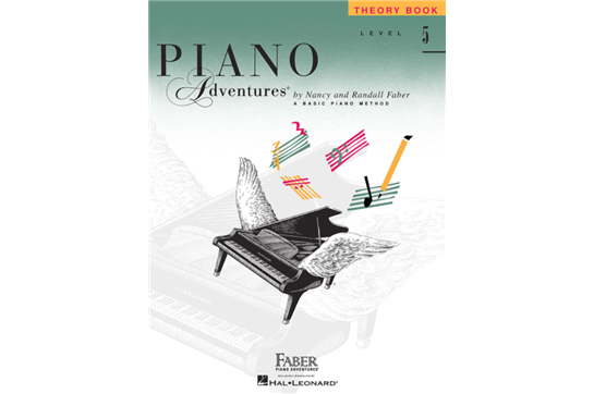 Piano Adventures Theory Book - Level 5