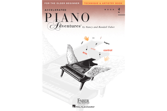 Accelerated Piano Adventures for the Older Beginner Technique & Artistry Book 2