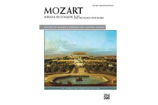 Mozart, Sonata in D Major, K. 448