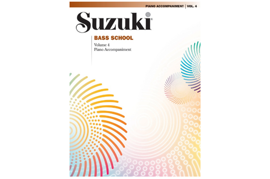 Suzuki Bass School Piano Acc., Volume 4