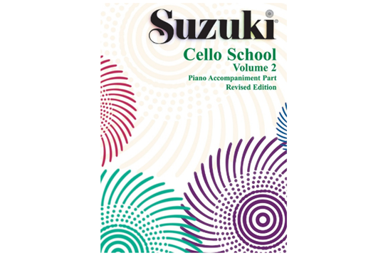 Suzuki Cello School Piano Acc., Volume 2 (Revised)
