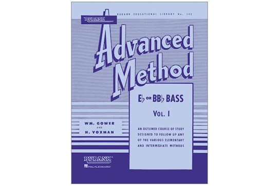 Rubank Advanced Method - Bass/Tuba (B.C.) Vol. 1
