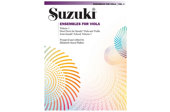 Suzuki Ensembles for Viola, Volume 1