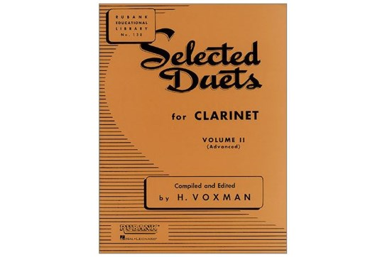 Selected Duets for Clarinet, Vol. 2