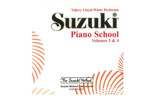 Suzuki Piano School CD, Volume 3 & 4