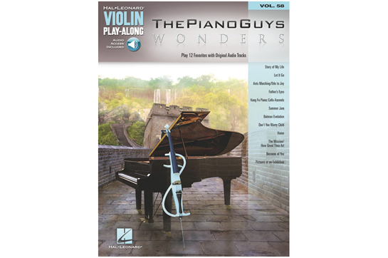 The Piano Guys - Wonders (Violin Play-Along)