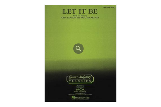 Let it Be PVG