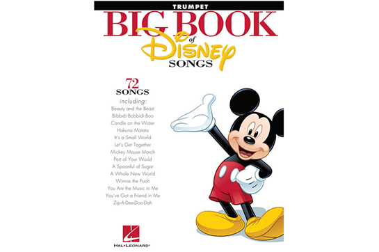 The Big Book of Disney Songs (Trumpet)