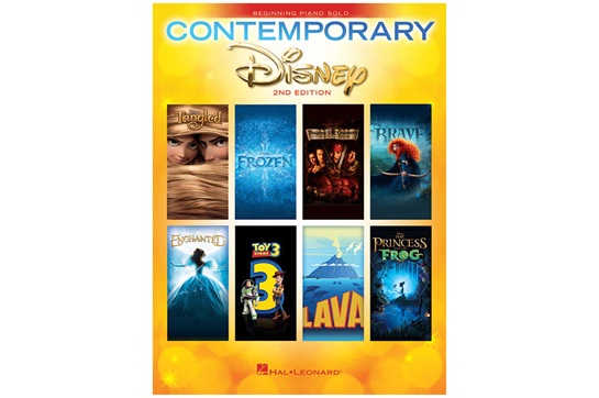 Contemporary Disney Solos - 2nd Edition (Easy Piano)