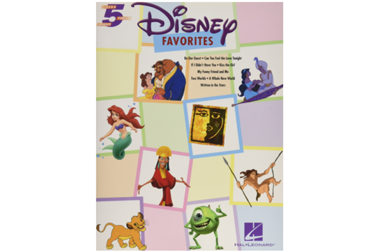 Disney Favorites 5 Finger Piano