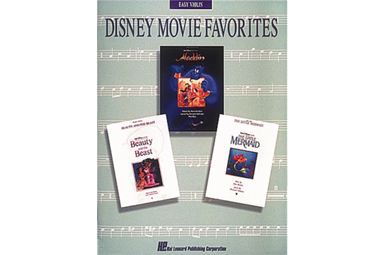 Disney Movie Favorites (Violin)