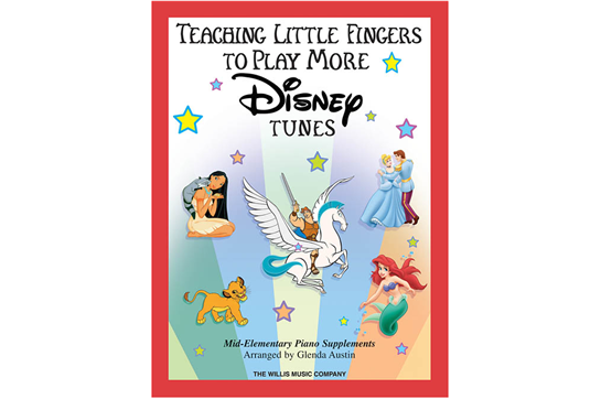 Teaching Little Fingers to Play More Disney Tunes (Book & CD)
