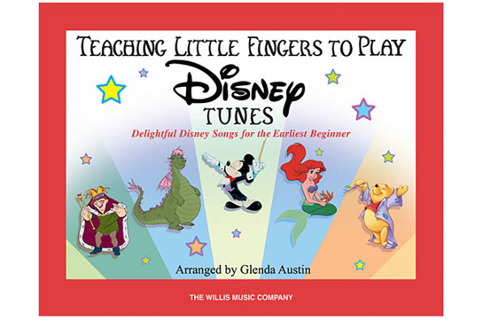 Teaching Little Fingers to Play Disney Tunes (Book only)