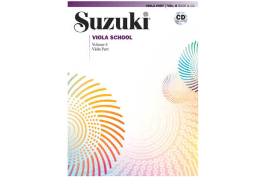 Suzuki Viola School, Viola Part & CD, Volume 8