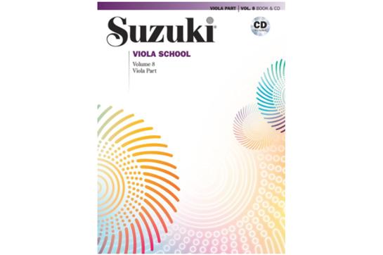 Suzuki Viola School, Viola Part & CD, Volume 8
