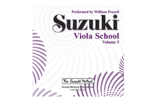 Suzuki Viola School CD, Volume 5 (Revised)