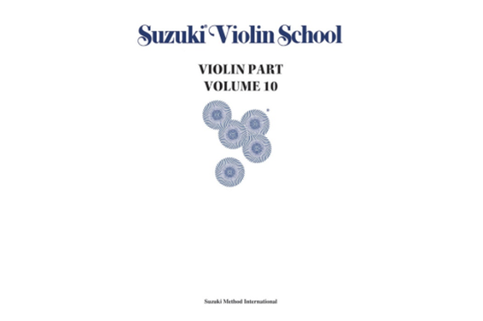 Suzuki Violin School, Violin Part, Volume 10