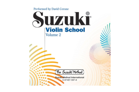 Suzuki Violin School CD, Volume 2