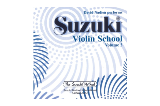 Suzuki Violin School CD, Volume 3