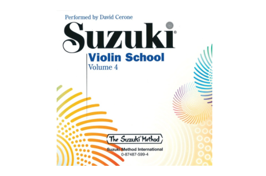 Suzuki Violin School CD, Volume 4