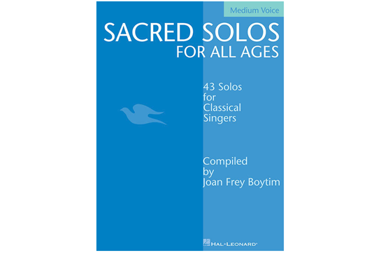 Sacred Solos for All Ages, Medium Voice
