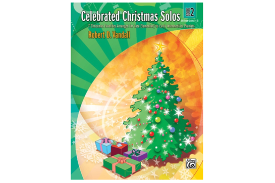 Celebrated Christmas Solos, Book 2