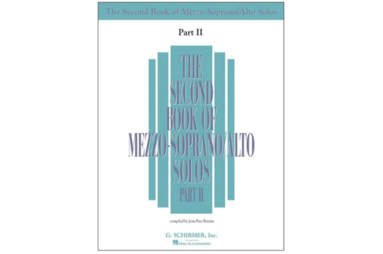 The Second Book of Mezzo-Soprano Solos, Part II