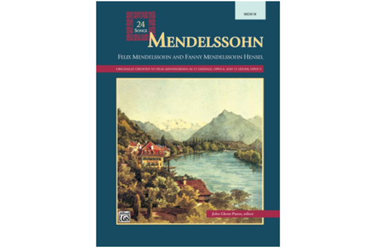 Mendelssohn - 24 Songs, Medium Voice