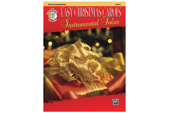 Easy Christmas Carols Instrumental Solos - Piano Acc.