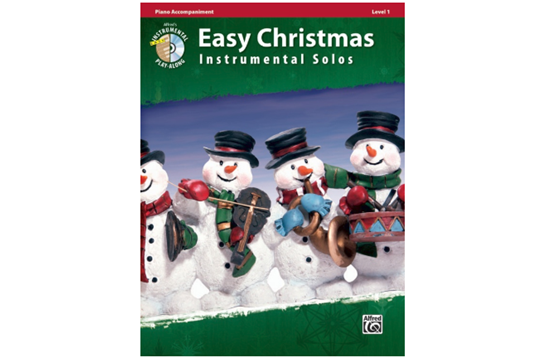 Easy Christmas Instrumental Solos, Level 1 - Piano Acc.